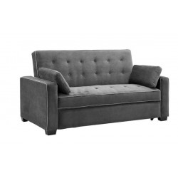 Gray Newport Convertible Sleeper Sofa
