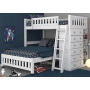 White Twin-Full Student Loft Save $110