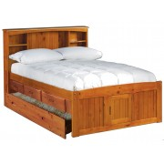 Honey Captains Full Bed with 3-Drawers and Trundle Save $80