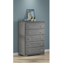 Charcoal 5-Drawer Chest Save $80