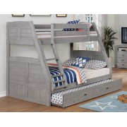 Gray Twin-Full Bunk Bed Save $120