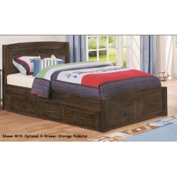 Chestnut Platform Bed