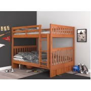 Honey Full-Full Mission Bunk Bed Save $120