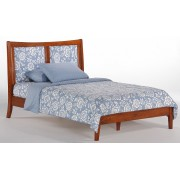 Cherry Chameleon Platform Bed