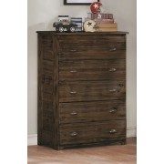 Chestnut 5-Drawer Chest