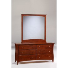 Cherry Clove 6-Drawer Dresser