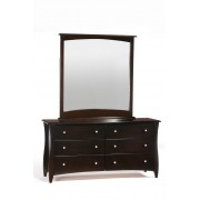 Chocolate Clove 6-Drawer Dresser