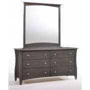 Stonewash Gray Clove 6-Drawer Dresser