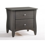 Stonewash Gray Clove 2-Drawer Nightstand