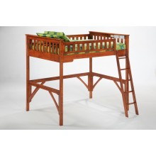 Ginger Cherry Loft Bed