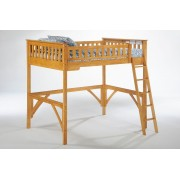 Ginger Medium Oak Loft Bed Save $110