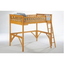 Ginger Medium Oak Loft Bed