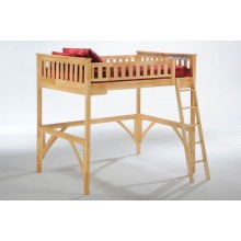 Ginger Natural Loft Bed