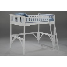 Ginger White Loft Bed