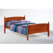 Cherry Licorice Platform Bed