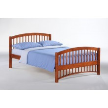 Cherry Molasses Platform Bed