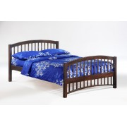 Chocolate Molasses Platform Bed