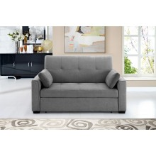 Gray Nantucket Convertible Sleeper Sofa