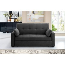 Charcoal Nantucket Convertible Sleeper Sofa