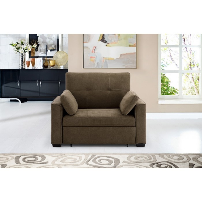 Cappuccino Nantucket Convertible Sleeper Sofa