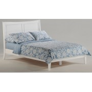 White Saffron Platform Bed Save $100