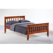 Cherry Sarsaparilla Platform Bed