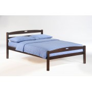 Chocolate Sesame Platform Bed