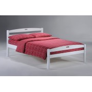White Sesame Platform Bed