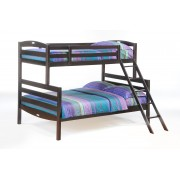 Chocolate Twin-Full Sesame  Bunk Bed Save $130
