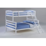 White Twin-Full Sesame Bunk Bed