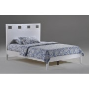 White Tamarind Platform Bed Save $110