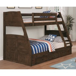 Chestnut Twin-Full Bunk Bed Save $150