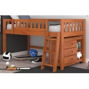 Honey Twin Low Loft Bed Save $80