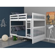 White Full-Full Mission Bunk Bed Save $120