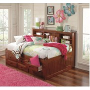 Merlot Full Bookcase Daybed with 6-Drawers