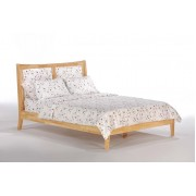 Natural Chameleon Platform Bed