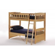 Cinnamon Twin-Twin Natural Bunk Bed Save $170