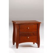 Cherry Clove 2-Drawer  Nightstand Save $50