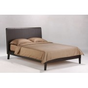 Chocolate Coriander Platform Bed Save $60