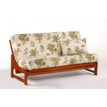 Full Eureka Futon Sofa in Cherry