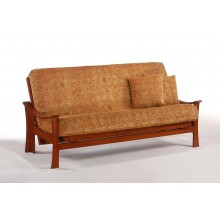 Full Fuji Futon Sofa in Cherry