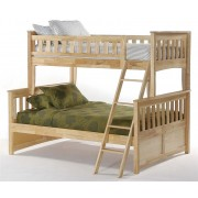 Ginger Twin-Full Natural Bunk Bed Save $190
