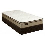 "Logan 9"" Gold Euro Top Mattress"