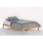 Natural Basic Platform Bed