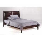Chocolate Saffron Platform Bed