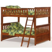 Ginger Full-Full Cherry Bunk Bed