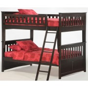 Ginger Full-Full Chocolate Bunk Bed Save $150