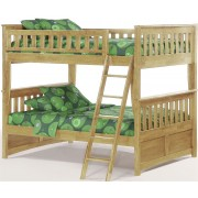 Ginger Full-Full Natural Bunk Bed Save $150