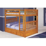 Honey Full-Full Mission Bunk Bed