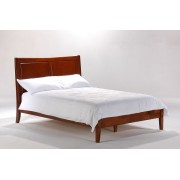 Cherry Saffron Platform Bed